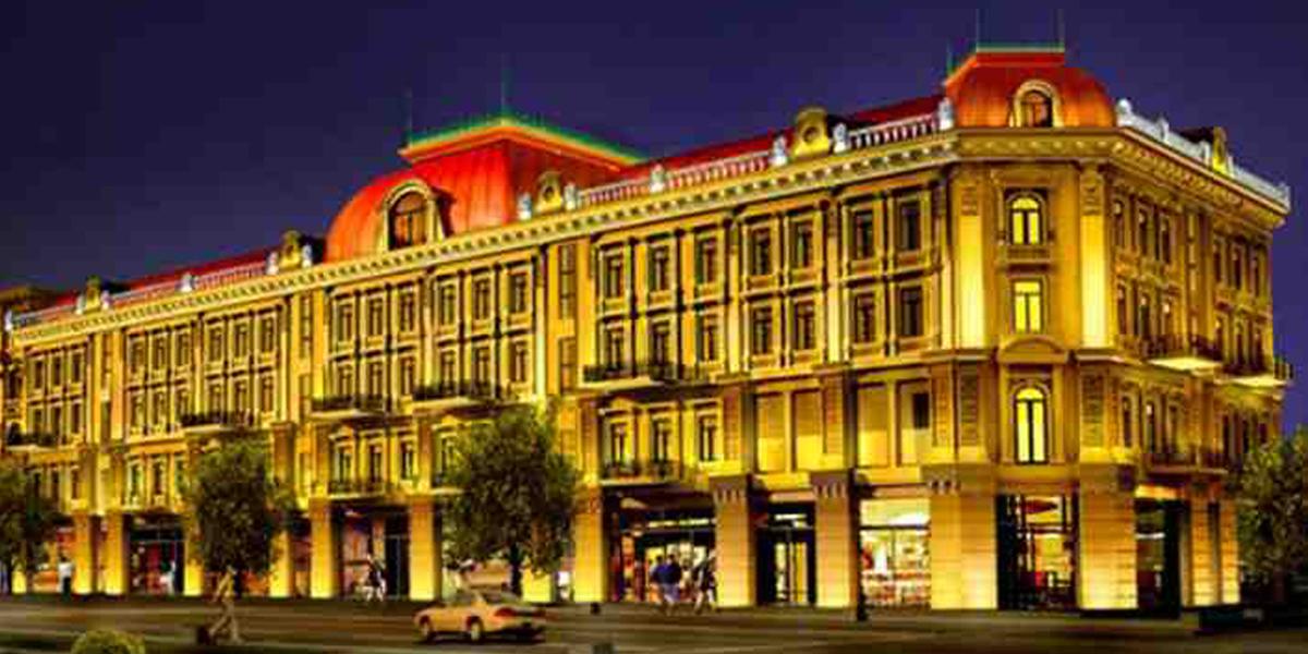 哈尔滨索菲亚商业广场亮化工程