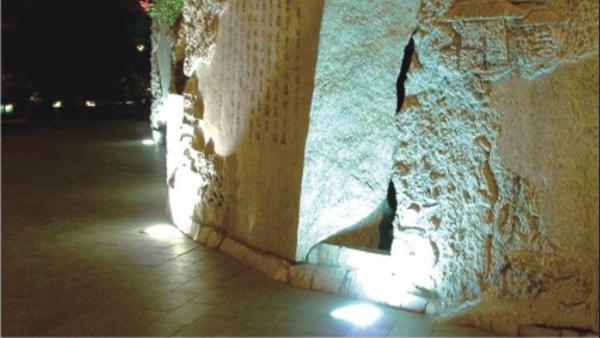 LED地埋灯效果图