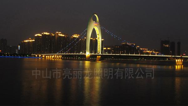 桥梁亮化-LED点光源效果