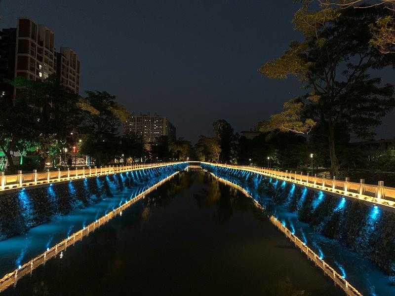 河道亮化工程项目