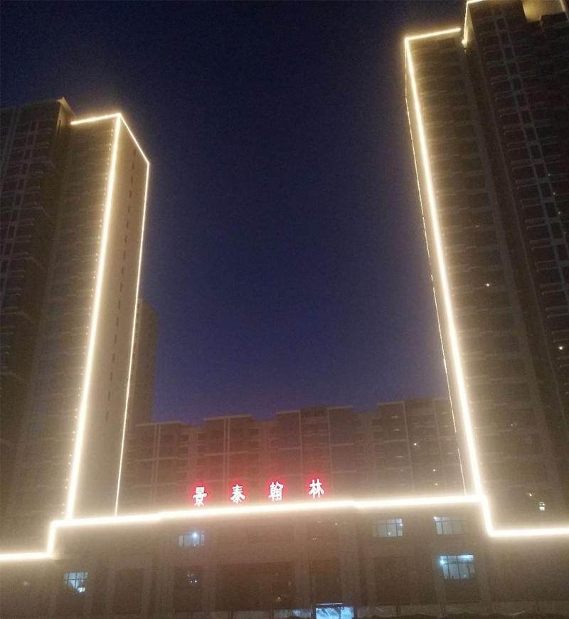 景泰翰林楼宇照明亮化