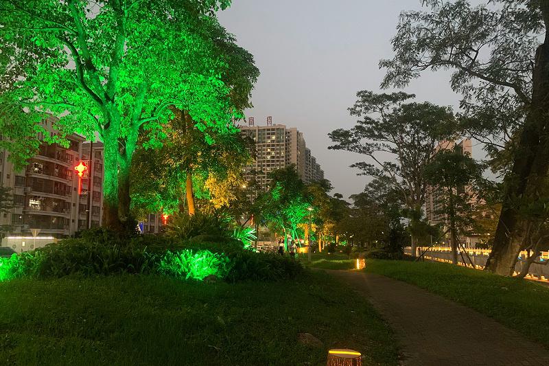 园林景观亮化