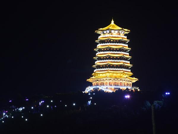 宁夏固原古雁塔