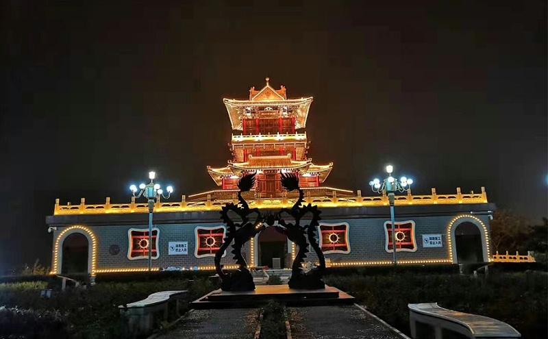 河北省青龙县青龙阁亮化项目