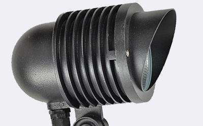 led地插射灯-航空铝灯体