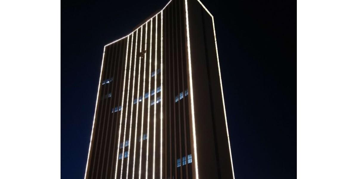 唐山市交通运输局大楼外墙