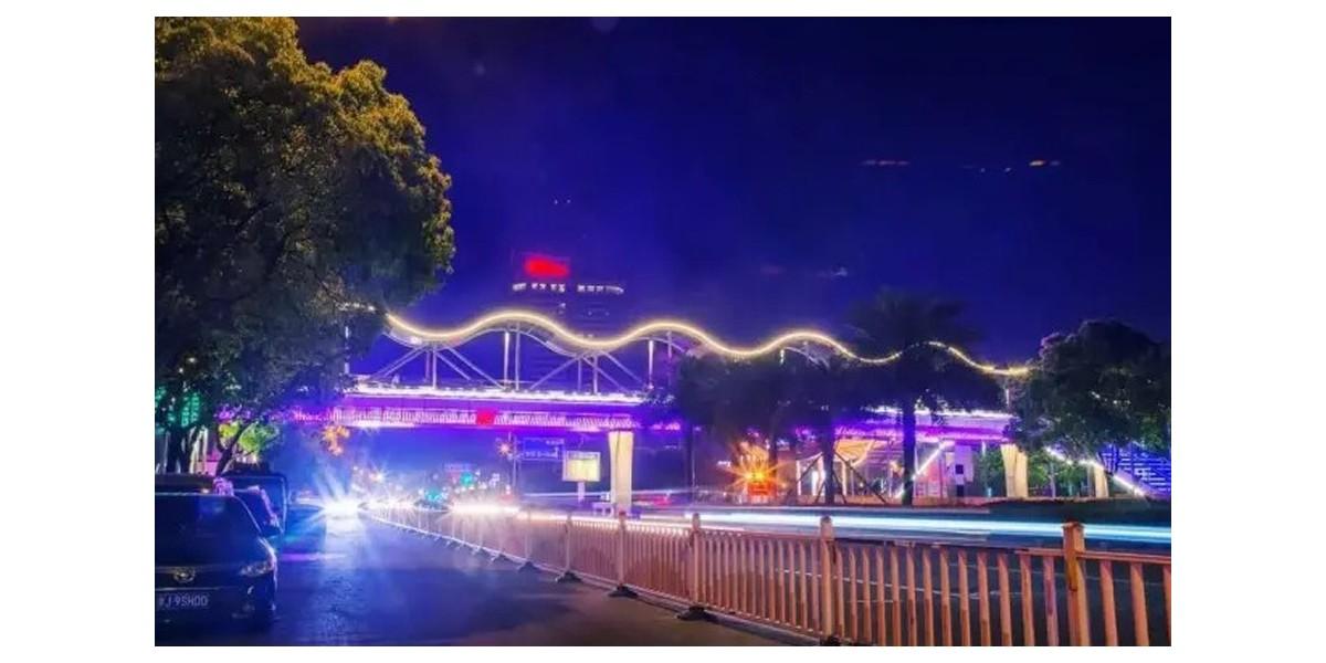 台州黄岩世纪大道人行天桥工程项目