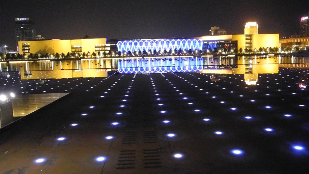 广场夜景亮化