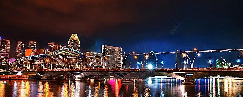 城市夜景亮化