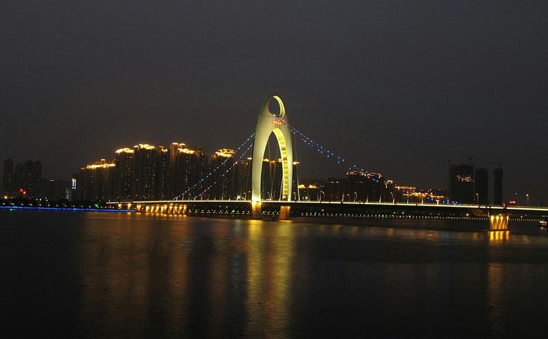 珠江大桥桥梁亮化