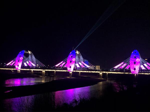 桥梁亮化项目